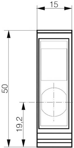Reflexiós fénydetektor/színérzékelő, 3 színre betanítható csatornával, hatótáv: 30 - 40 mm, Contrinex FTS-4055-301