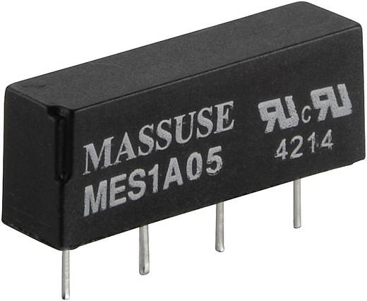 Reed relé 1 záró 5 V/DC 0.5 A 10 W SIP-4 MES1A05
