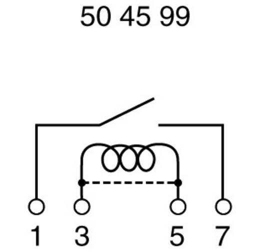 Reed relé 1 záró 12 V/DC 0.5 A 10 W