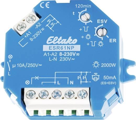 AP/UP áramimpulzus-kapcsoló, 1 záró érintkező 10 A, Eltako 61100001 ESR61NP