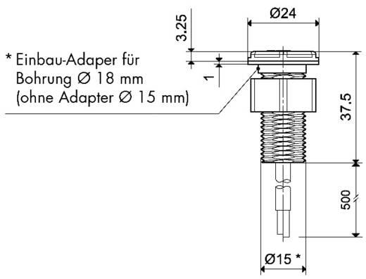 Finder beépíthető fotoszenzor alkonykacsolóhoz, 011.03