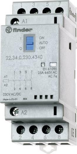 Védőkapcsoló 2 záró/2 nyitó (30/110/220 V) 25/5/1 A, Finder 22.34.0.024.4640