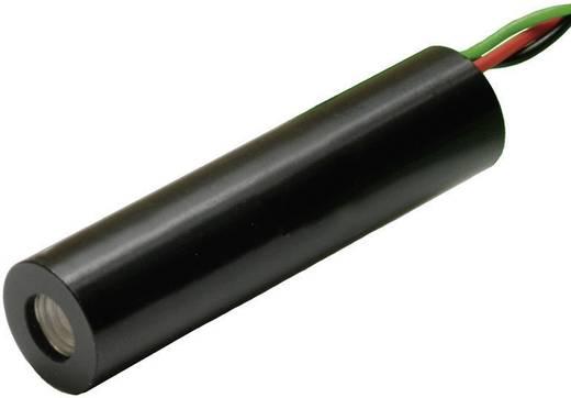 Lézerdióda modul, 1mW, piros, 2. osztály, IMM-1040-635-1R-K-L