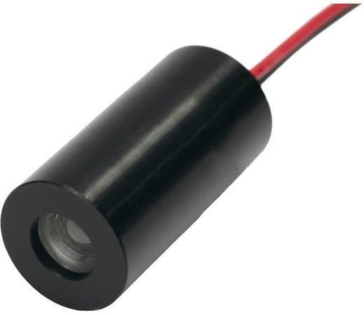 Kereszt vonalas lézer modul 1 mW, Lézerosztály 2, piros, IMM-1020K-F-650-1-K-25