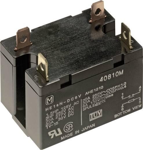 Teljesítmény relé 12 V 1 záró 30 A 30 V/DC/277 V/AC 8310 VA, Panasonic HE1AN12