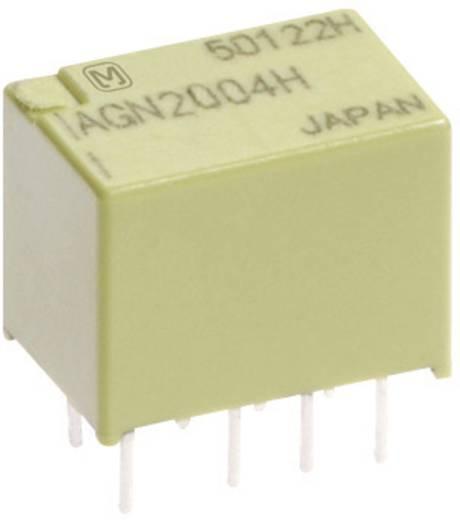Jelzőrelé nyákba, bistabil, 4.5 V/DC 2 váltó 1 A 110 V/DC/125 V/AC 30 W/37,5 VA, Panasonic AGN2104H