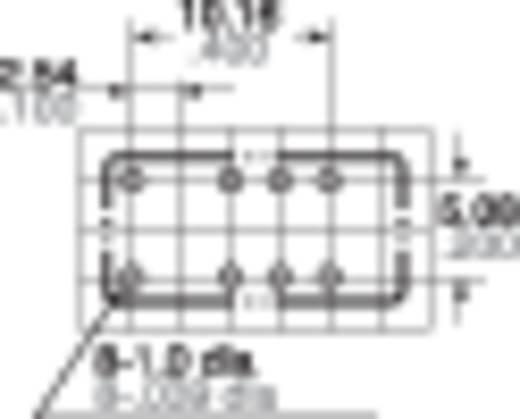 Jelzőrelé nyákba, 12 V 2 váltó, 1 A 110 V/DC/125 V/AC 30 W, Panasonic TXS212
