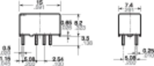 Jelzőrelé nyákba, 4,5 V 2 váltó 1 A 110 V/DC/125 V/AC 30 W, Panasonic TXS24,5