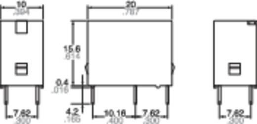 Teljesítmény relé 12 V 1 záró, 5 A 110 V/DC 250 V/AC 625 VA, Panasonic JQ1AB12F