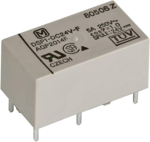 Teljesítmény relé 24 V 1 záró/1 nyitó, 5 A 30 V/DC 250 V/AC 1250 VA/150 W, Panasonic DSP124F