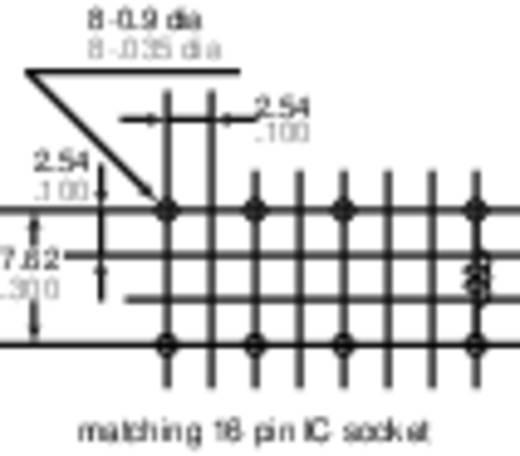 Jelzőrelé nyákba, 12 V/DC 2 váltó 2 A 220 V/DC/250 V/AC 60 W/62,5 VA, Panasonic DS2YS12