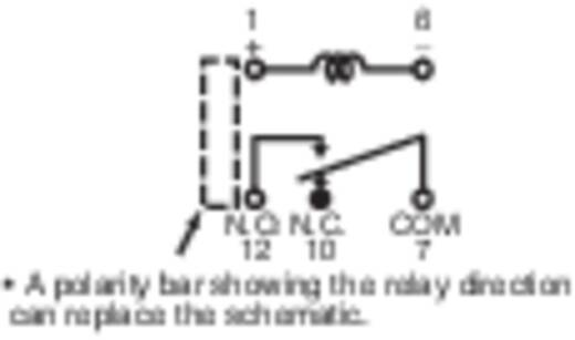 Jelzőrelé nyákba, 12 V 1 váltó 2 A 220 V/DC/250 V/AC 60 W/125 VA, Panasonic DS1ES12