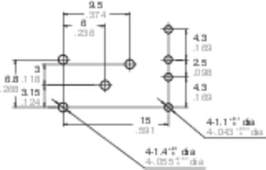 Autó relé 12 V/DC 2 váltó, NO 20 A / NC 10 A 14 V/DC, Panasonic ACT212