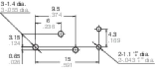 Autó relé 12 V/DC 1 váltó, NO 20 A / NC 10 A 14 V/DC, Panasonic ACT112