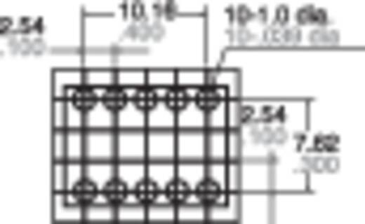 Jelzőrelé, nyákba, monostabil, 12 V 2 váltó, 1 A 110 V/DC/125 V/AC 30 W/62,5 VA, Panasonic TQ212