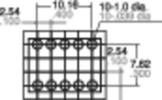 Jelzőrelé, nyákba, monostabil, 5 V 2 váltó, 1 A 110 V/DC/125 V/AC 30 W/62,5 VA, Panasonic TQ25