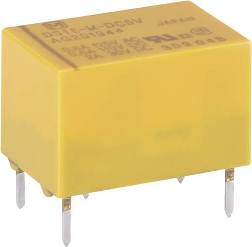 Jelzőrelé nyákba, 12 V 1 váltó 2 A 220 V/DC/250 V/AC 60 W/125 VA, Panasonic DS1EM12