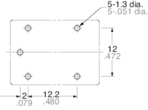 Autó relé 12 V/DC 1 váltó, 15 A 16 V/DC 160 W, Panasonic JSM1125