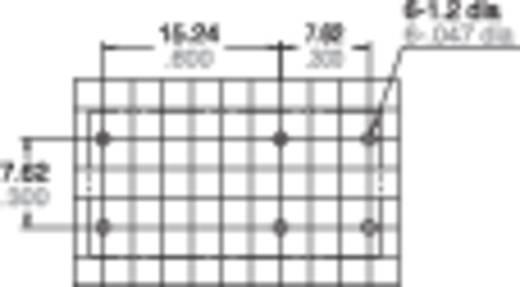 Teljesítményrelé, bistabil 1A 12V 10A DE1