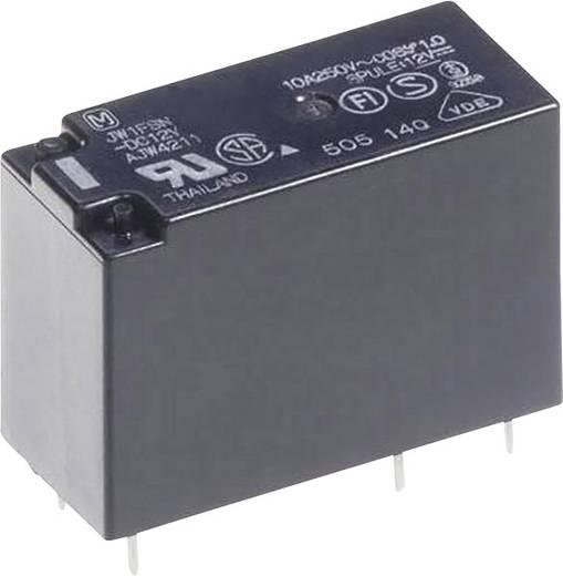 Teljesítmény relé 12 V/DC 2 váltó, 5 A 30 V/DC 250 V/AC 1250 VA/150 W, Panasonic JW2SN12