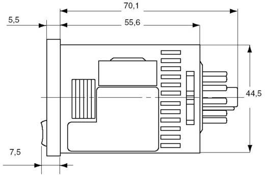 Digitális multifunkciós időrelé, 1 nyitott kollektoros kimenet 12-24 V/DC 0,1 A 30 V/DC, Panasonic LT4HT24J