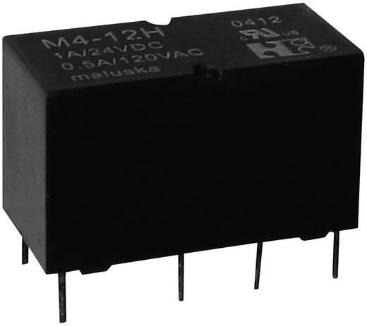 Kis relé 2 pólusú váltó 24V/DC