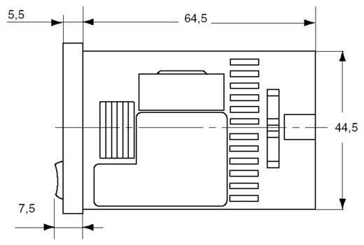 Panasonic digitális multifunkciós időkapcsolórelé, 1 áramkör, 100-240V/AC, 250V/5A, LT4H240ACSJ