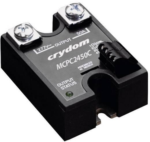 Proporcionális kimeneti szabályzású elektronikus teljesítmény relé 50 A 330 - 530 V/AC, Crydom MCPC4850C