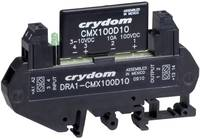 DC félvezető relé DIN sínre való szereléshez 0 - 8 A, 1 - 60 V/DC, Crydom DRA1-CMX60D10 (DRA1-CMX60D10) Crydom