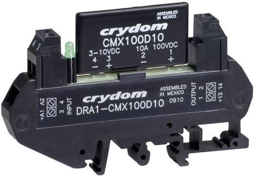 DC félvezető relé DIN sínre való szereléshez 0,02 - 3 A, 3 - 60 V/DC, Crydom DRA1-MPDCD3