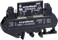 AC félvezető relé DIN sínre való szereléshez 0,06 - 5 A 12 - 280 V/AC, Crydom DRA1-CXE240D5 (DRA1-CXE240D5) Crydom