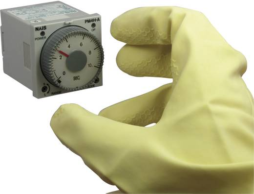 Multifunkciós iker időrelé 24 V DC/AC 2 db potenciálmentes váltó, 5 A 250 V/AC 10 VA, Panasonic PM4HWH24SWJ