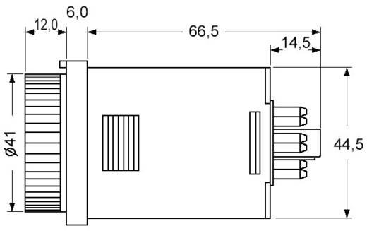 Panasonic multifunkciós időkapcsolórelé, 2 áramkör, 100-240V/AC, 250V/5A, PM4HAHA240J