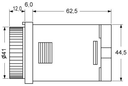 Multifunkciós iker időrelé 100 - 240 V/AC 2 db potenciálmentes váltó, 5 A 250 V/AC 10 VA, Panasonic PM4HWHAC240SWJ