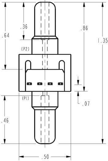 Nyomásérzékelő, ±5 psi/±347,5 mbar, 10 VDC, Honeywell 26PCBFA6D