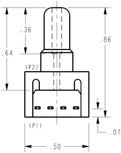 Nyomásérzékelő, ±5 psi/±347,5 mbar, 10 VDC, Honeywell 26PCBFA6G