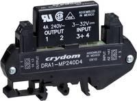 AC félvezető relé DIN sínre való szereléshez 0,02 - 3 A 24 - 280 V/AC, Crydom DRA1-MP240D3 (DRA1-MP240D3) Crydom