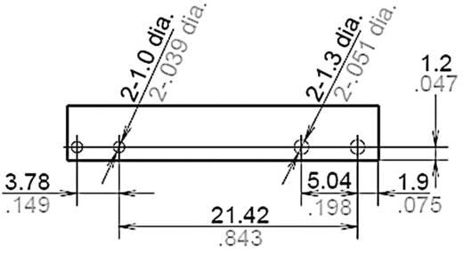 Teljesítmény relé 24 V/DC 1 záró, 6 A, 250 V/AC, 1500 VA, Panasonic APF10224