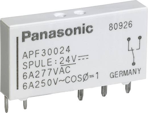 Teljesítmény relé 24 V/DC 1 záró, 6 A, 250 V/AC, 1500 VA, Panasonic APF30224