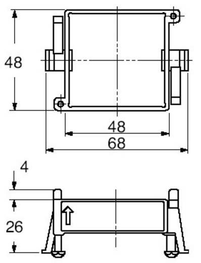 Panasonic relé szerelőkeret, AT8DA4J