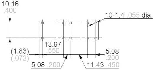 Biztonsági relé 12 V/DC 2 záró/2 nyitó, 6 A 30 V/DC/250 V/AC 1500 VA, Panasonic SFS2L12