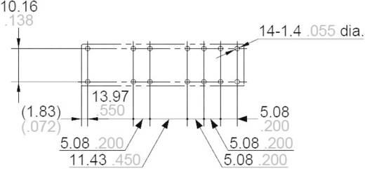 Biztonsági relé 12 V/DC 4 záró/2 nyitó, 6 A 30 V/DC/250 V/AC 1500 VA, Panasonic SFS4L12