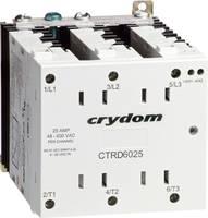 3 fázisú félvezető relé 3 x 25 A 48 - 600 V/AC, Crydom CTRC6025 (CTRC6025) Crydom