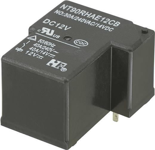 Nyákos teljesítmény relé 12 V/DC 1 záró, 30 A 110 V/DC/300 V/AC, NT90RHAE12CB