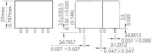 Nyákos teljesítmény relé 24 V/DC 1 záró, 30 A 110 V/DC/300 V/AC, NT90HCE24CB