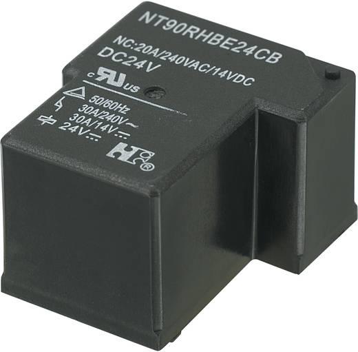Nyákos teljesítmény relé 24 V/DC 1 záró, 30 A 110 V/DC/300 V/AC, NT90RHAE24CB
