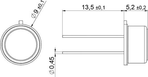 Digitális páratartalom-/hőmérséklet érzékelő (±1,8 %) 0 - 100 % rF, (±0,2 °C) -40 - +125 °C, IST AG HYT 939