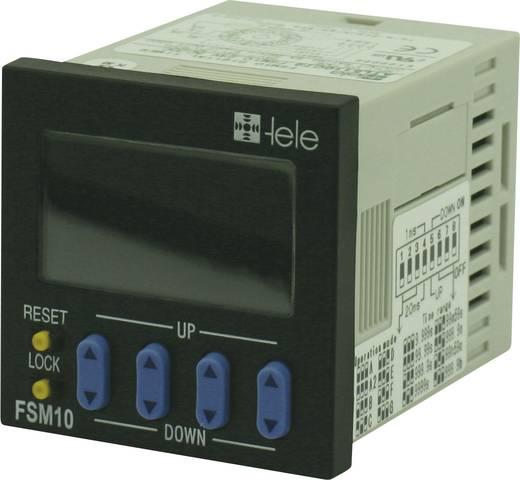 TELE digitális időkapcsolórelé, 1 áramkör, 250V/5A, FSM10, 180601
