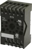 Reléfoglalat 1 db tele R11X Alkalmas a következő sorozatokhoz: Tele sorozat FSM10 (R11X SOCKELFASSUNG) tele
