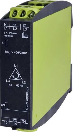 3 fázisú feszültségfigyelő relé, TELE G2PF400VS02